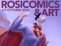 Rosicomics & Art - 2018 poster