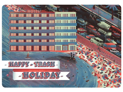 Postcard from the Trash Holiday