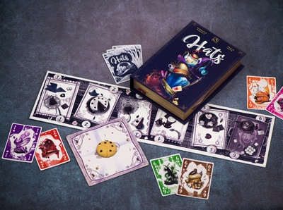 Hats - A board game by ThunderGryph