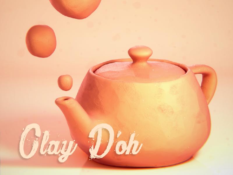 Clay D'oh! : A Procedural Blender Shader by Rahul Parihar | Dribbble
