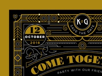 K&G // Save The Date