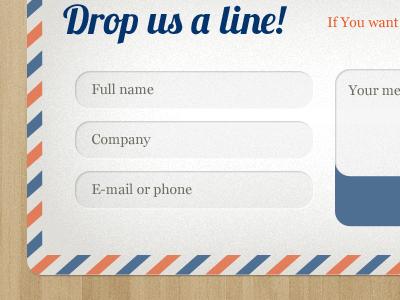 Envelope contact form ui form contact input send