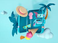 Suitcase – Bon voyage!