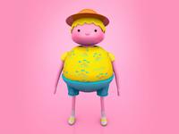 Character design — Bon Voyage!