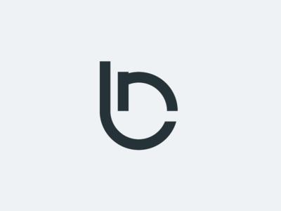 NB Monogram logotype mark symbol letter nb logo design identity design branding logo monogram
