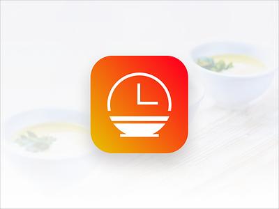 Food Ordering App Icon brand identity branding logo design app icon food ordering app ordering food