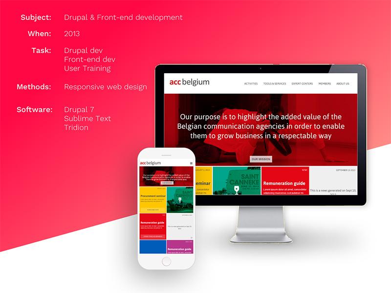 Use case for responsive sites with Drupal 7 webdesign mobile design responsive front-end development drupal
