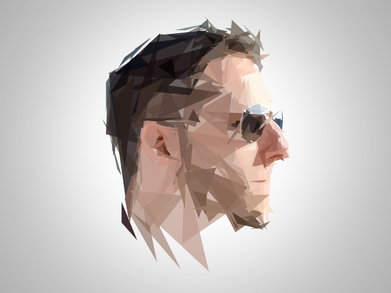 Self portrait portrait polygon