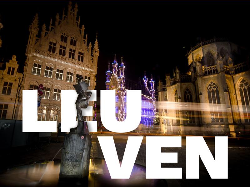 Leuven typography fonske leuven