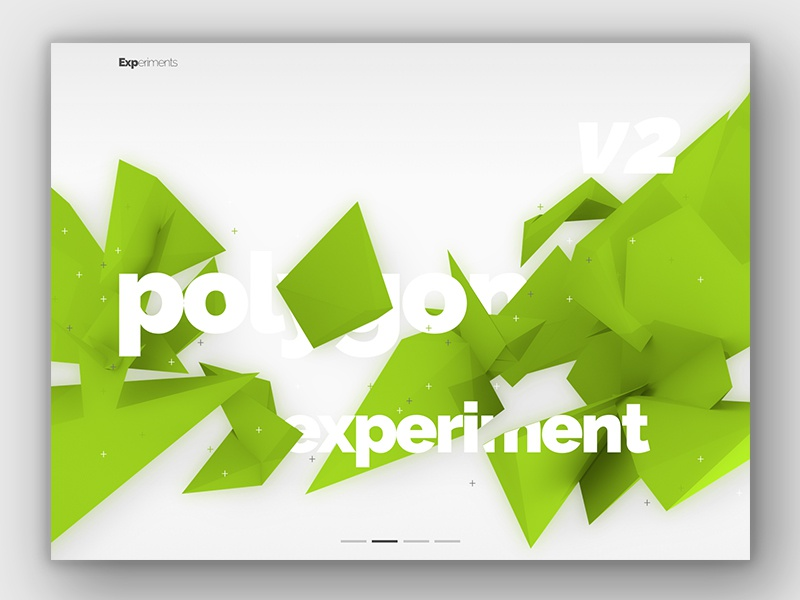 Still from an upcoming animation pt 2 blender 3d visual design typography displaced design ui polygon