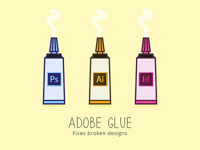 Adobe Glue - Fixes Broken Designs graphics shots dribbblers dribbble digitaldesign adobe adobeindesign adobeillustrator adobephotoshop