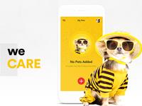 Pet Care App Landing Page
