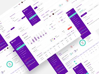 SeO Dashboard design profile settings seo agency product design design uiux design ui graphs analysis web app dashboard ui dashboard seo enterprise clean ui ux ui