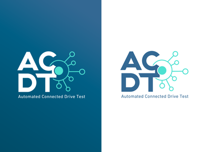 ACDT logo blue connection smart technical