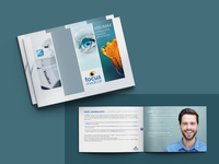 Laser eye surgery brochure design
