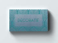 Decoratif Home&Decor letterpress card