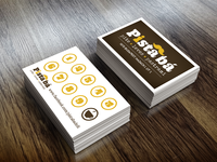 Pista ba – Coffee Card design