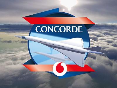 Concorde illustration plane aircraft concorde