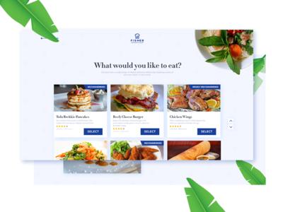 Food ordering website graphic design restaurant web designer web design