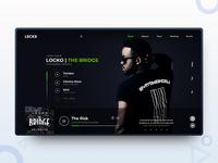 LOCKO   Artist landing page