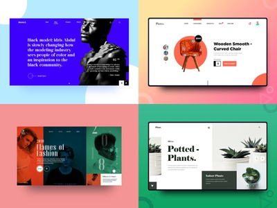 2018 - Thank you Dribbble designer adobe illustrator ui design minimal illustration photography uiux clean design inspiration freelance designer graphic design web design