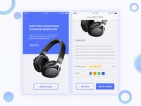 App Product Screen UI Design