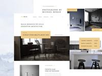 Furniture Landing Page UI Design