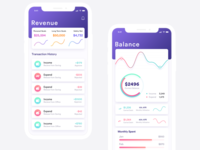 Financial App Concept Design