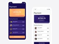 Payment App Concept Design