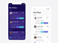 Ride App Design Concept