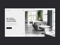 Restaurant Website Header