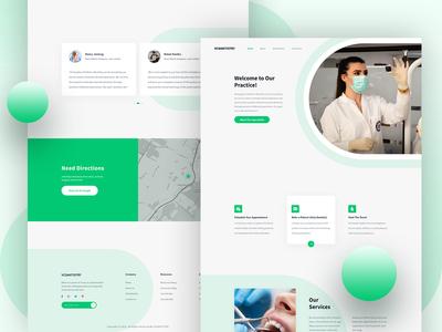 Dental Landing Page Design