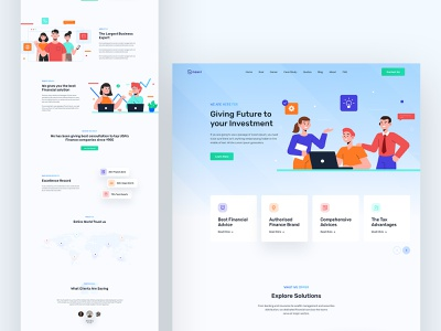 Neaxr - React Business Agency Template illustration landing page design landing page website design web design ux ui the agency startup template startup agency template startup react-redux react template react agency template react agency template multipurpose material ui corporate agency corporate business