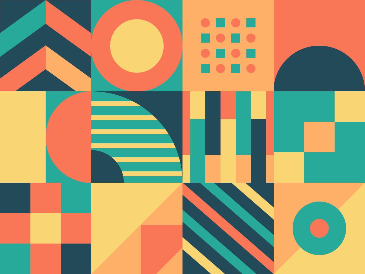 Exploration digital abstract advertising marketing studio designer graphicdesign design objects elements shape patterns