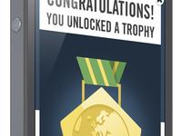 Footbaholic Quiz Trophy Badge