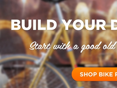 Bike Shop Homepage interface ui ecommerce