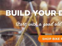 Bike Shop Homepage