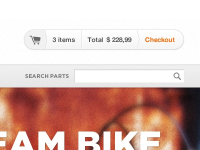 Bike Shop Checkout interface ui ecommerce