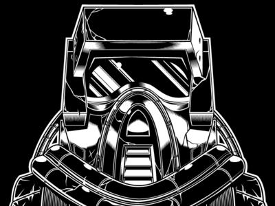 MMMMMMASK No:1 red© hascon. illustration. vector. tracker. matt spectrum. m.a.s.k.