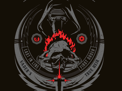 Clonechella tee idea t design vector star wars kylo ren