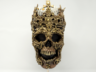 Hail to the king! red central official modded custom skull watchdogs ubisoft