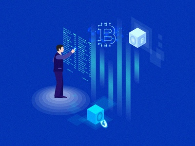 Crypto illustration