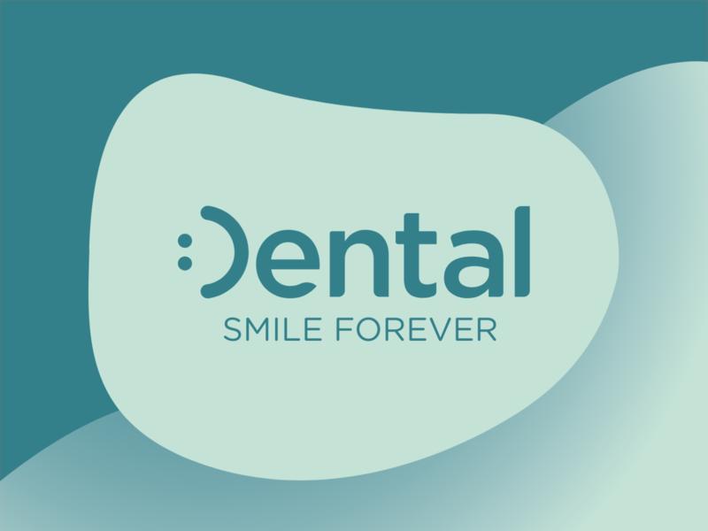 Dental.com Brand Identity & UI/UX Design typography illustration minimal logo logo design ui minimal branding minimalistic logo branding logo design