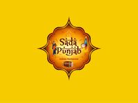 Sada Punjab Restourant Logo Design