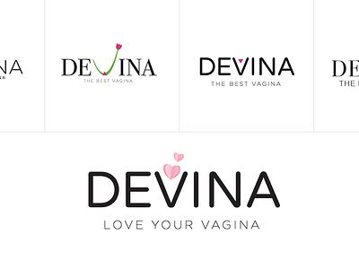 Devina Logo vector illustration minimal logo minimalistic logo logo minimal brand branding logo design icon design