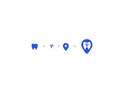 Medical App Branding dental logo dental brand vector minimal logo minimalistic logo minimal branding branding minimal brand logo design icon design
