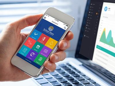 School Erp App UI UX schedule ui ux school app school app ui ux