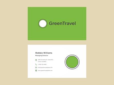 Travel app branding stationary stationary design business card minimal brand logo design icon design
