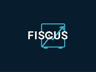 Fiscus logo for finance company typography icon logo illustration vector minimal logo minimal branding branding logo design icon design