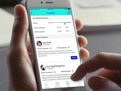 Health Guru - Doctor App health app medical app mobile app design ui design ui elements ui